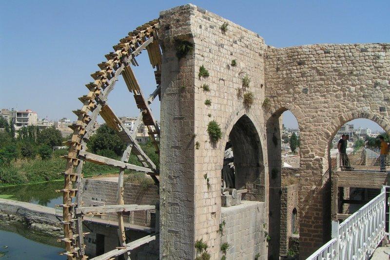 Vodné kolesá Hamá, Sýria