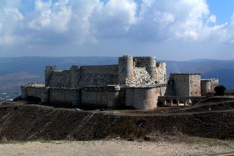 Crac des Chevaliers, Sýria