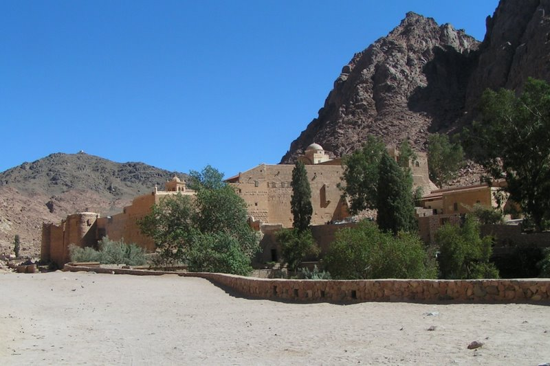 Kláštor sv. Kataríny, Egypt