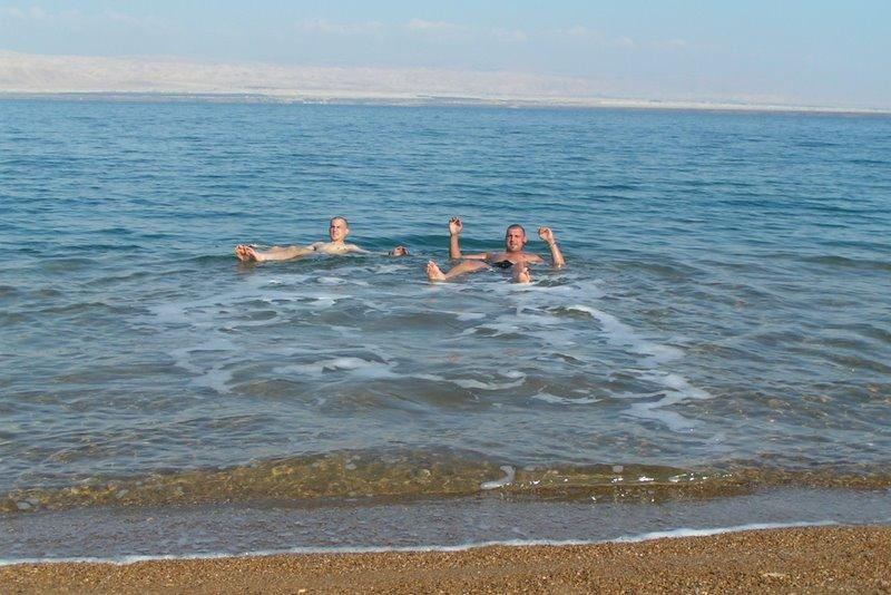 Mŕtve more - Amman beach resort, Jordánsko