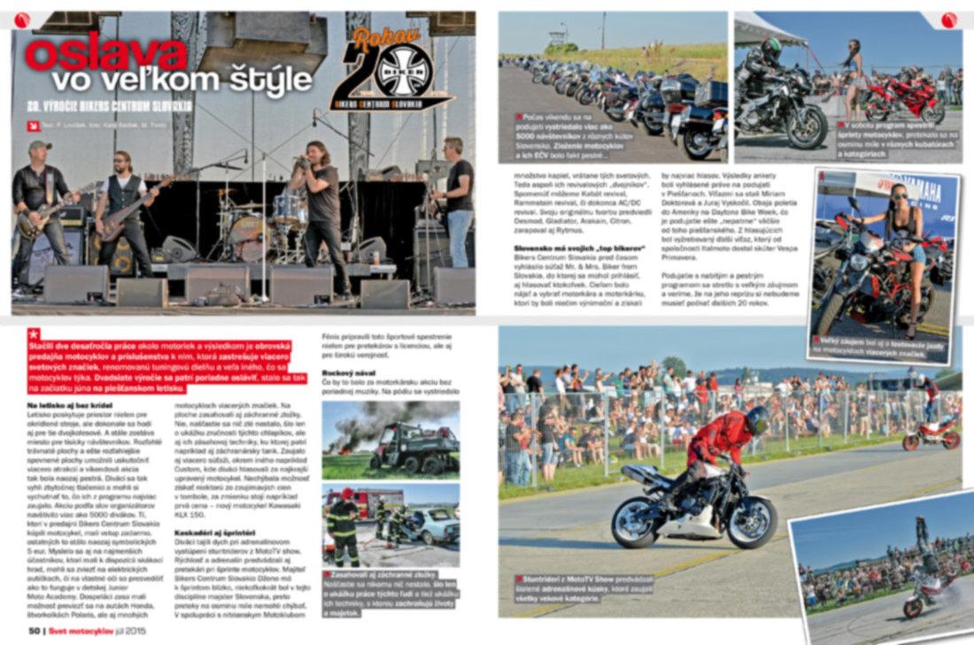 Svet motocyklov 7/2015