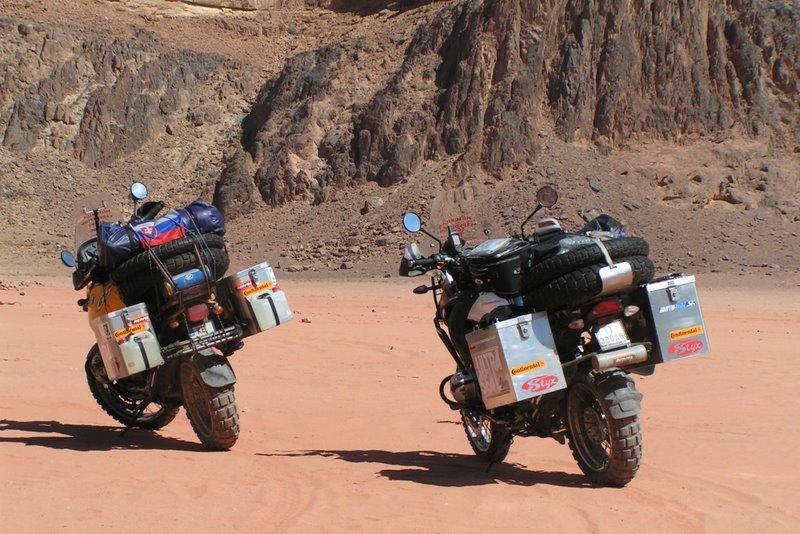 Červená púšť Wadi Rum, Jordánsko