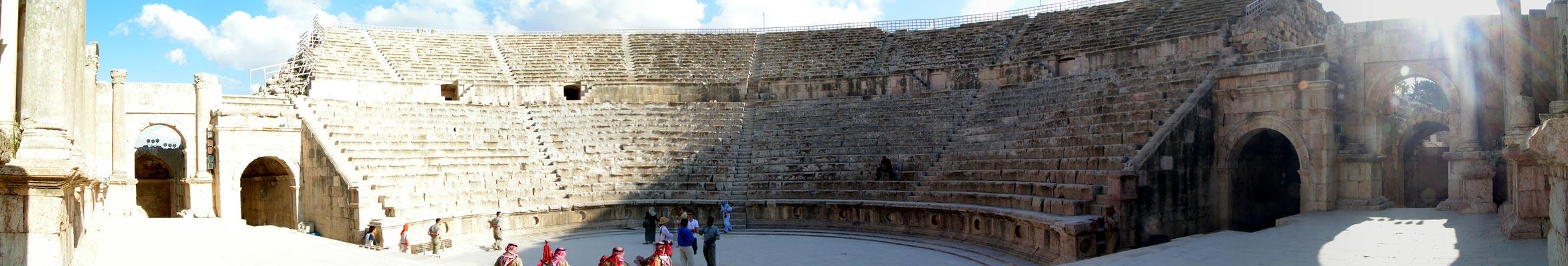Panoráma Jerash