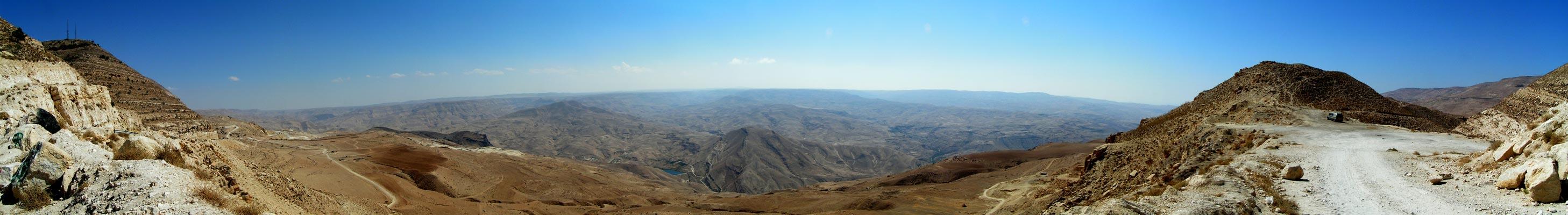 Panoráma Jordánske hory