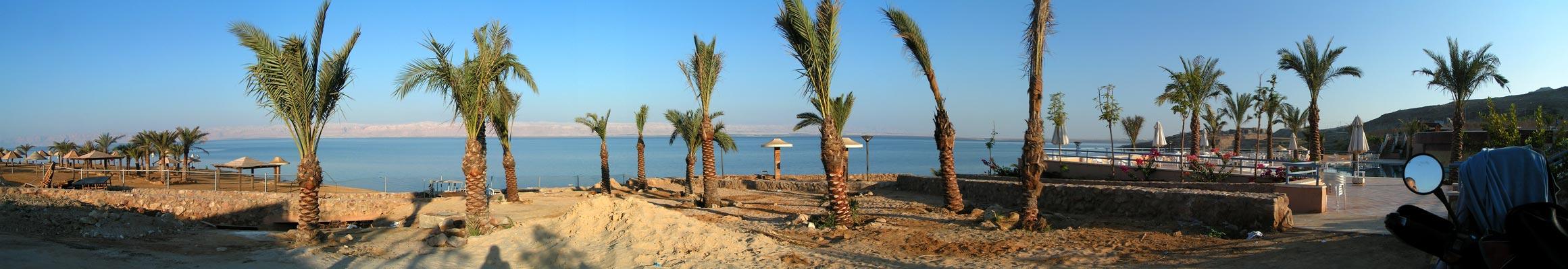 Panoráma Mŕtve more