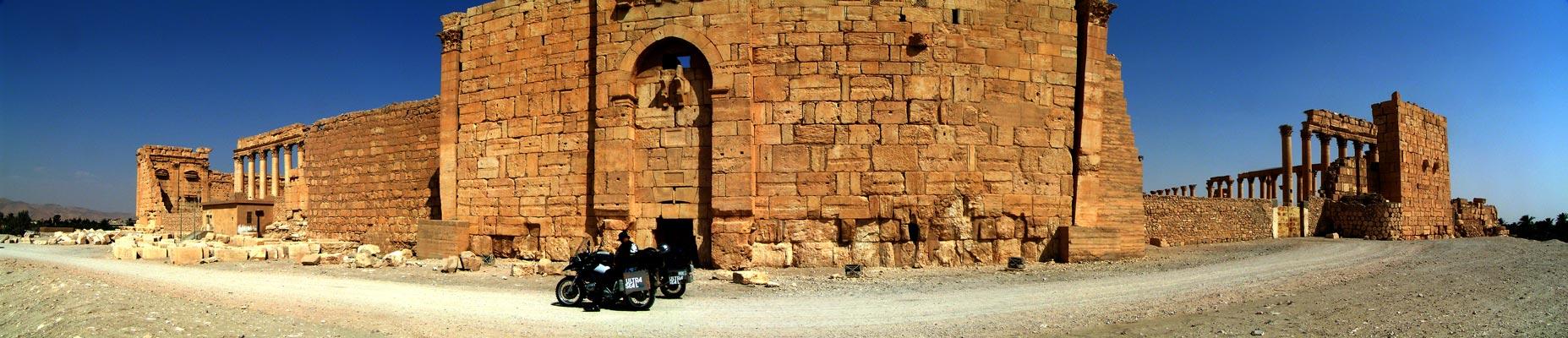 Panoráma Palmyra - chrám