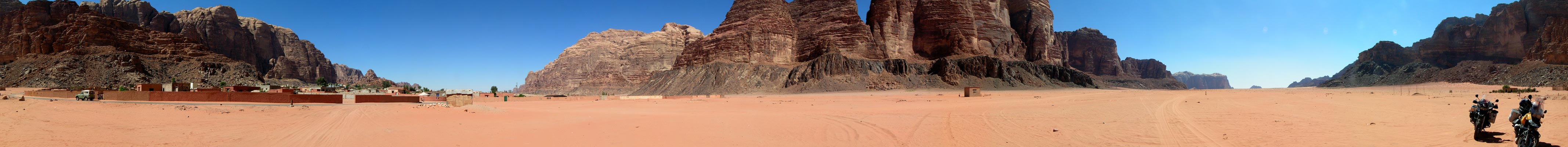 Panoráma Wadi Rum