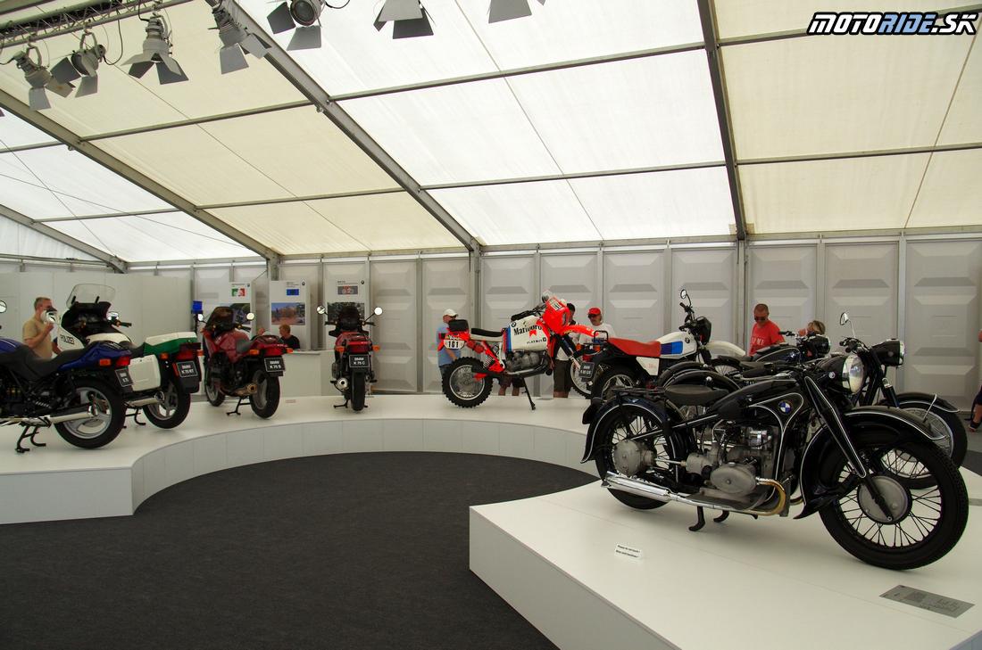 BMW múzeum na BMW Motorrad Days 2015 - Garmisch-Partenkirchen