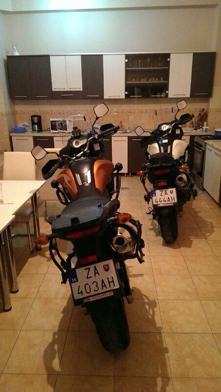 Motorky v kuchyni
