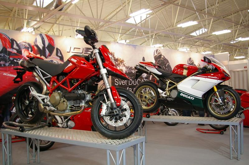 Výstava Motocykel 2007 - Ducati