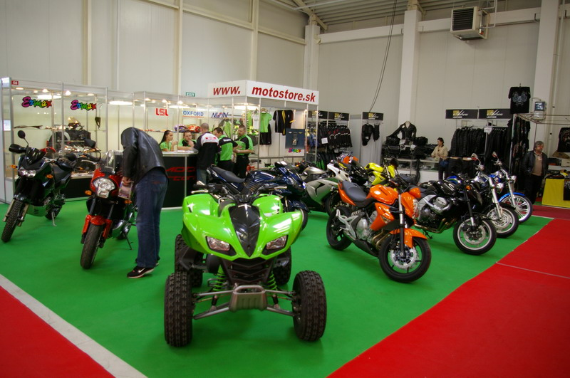 Výstava Motocykel 2007 - Kawasaki