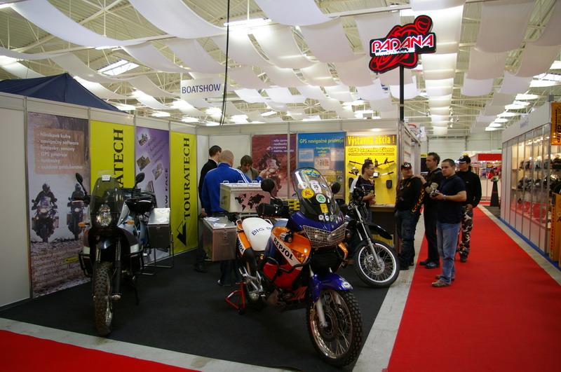 Výstava Motocykel 2007 - Touranbike