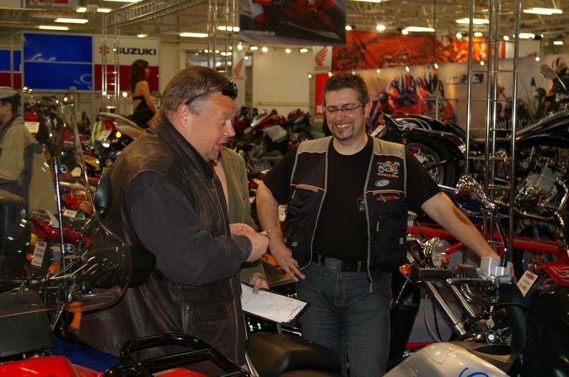 Výstava Motocykel 2007 - Tuli a Willi
