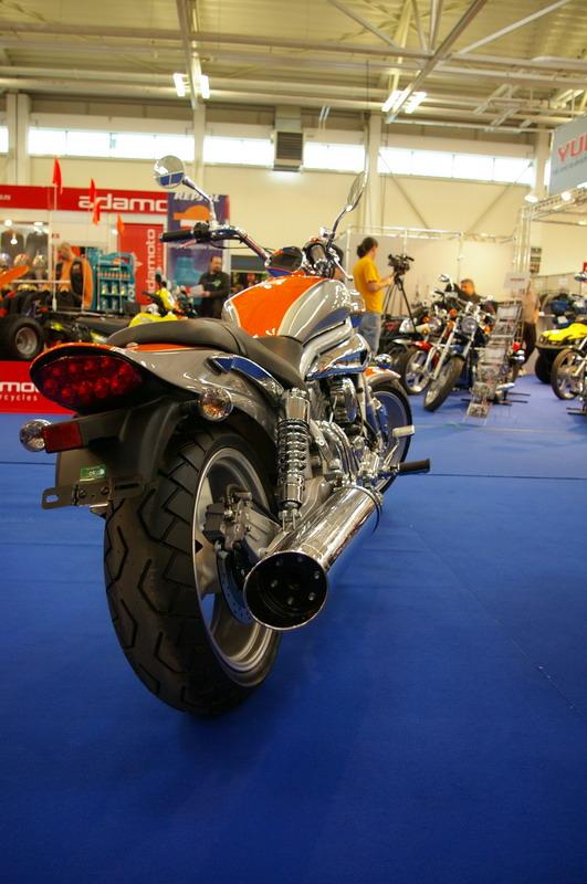 Výstava Motocykel 2007 - Hyosung