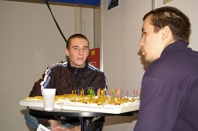 Výstava Motocykel 2007 - Tomáš Svitok, mladá nádej cestných motocyklov
