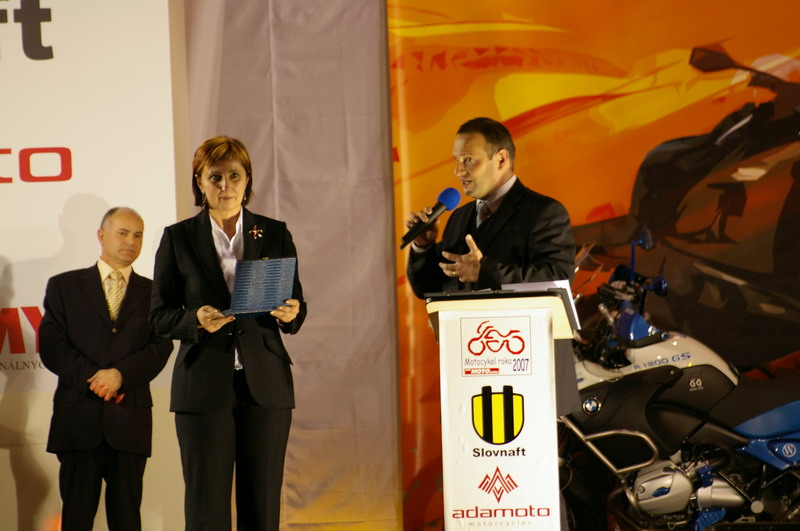 Výstava Motocykel 2007 - Motocykel roka