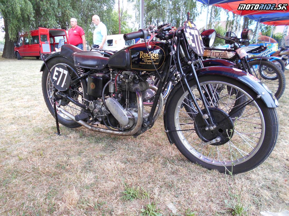 Rudge Ulster 500 Oldtimer Moto Show Červeník 2015,