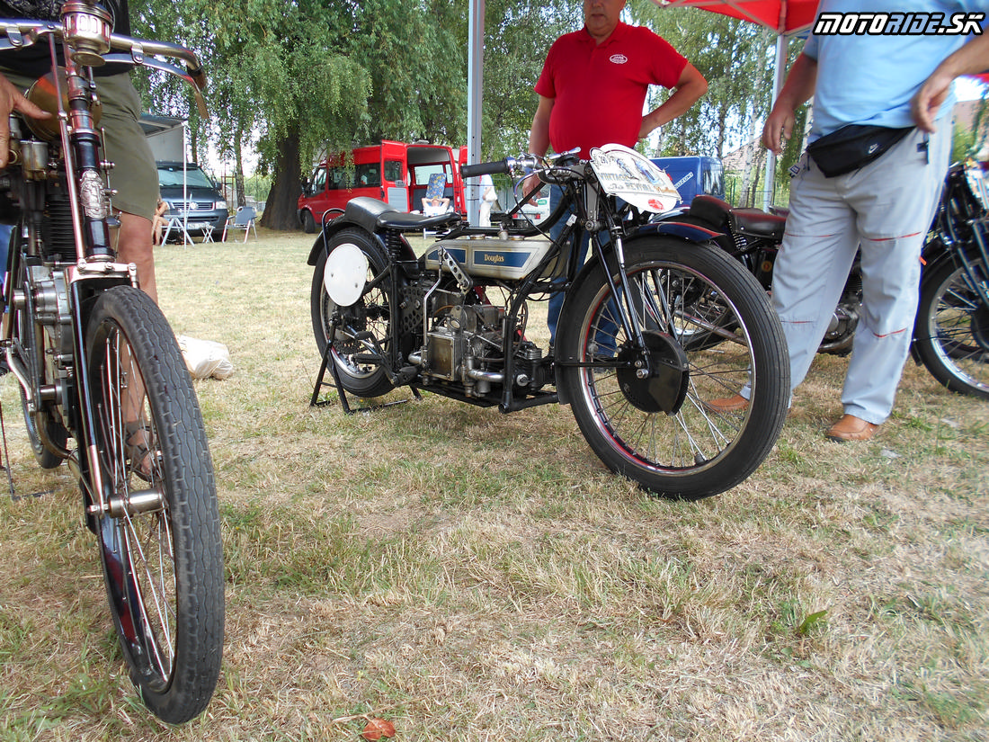 Douglas 500 1928, Oldtimer Moto Show Červeník 2015