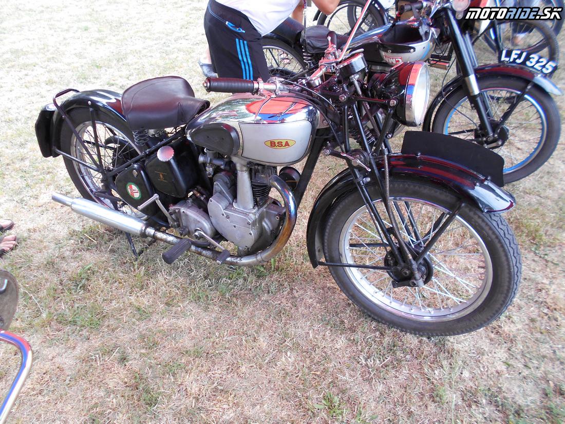Oldtimer Moto Show Červeník 2015