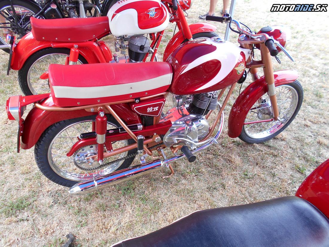 Ducati 98, Oldtimer Moto Show Červeník 2015