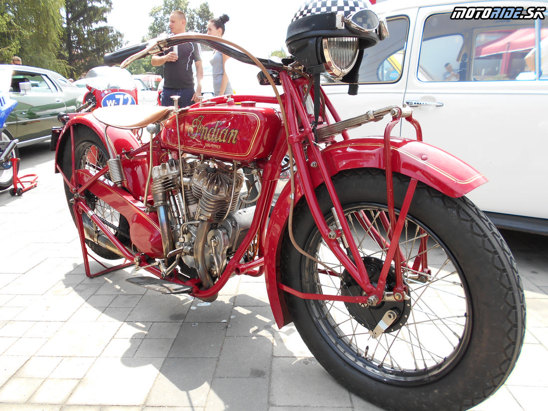 Indian Big Chief 1200, Oldtimer Moto Show Červeník 2015