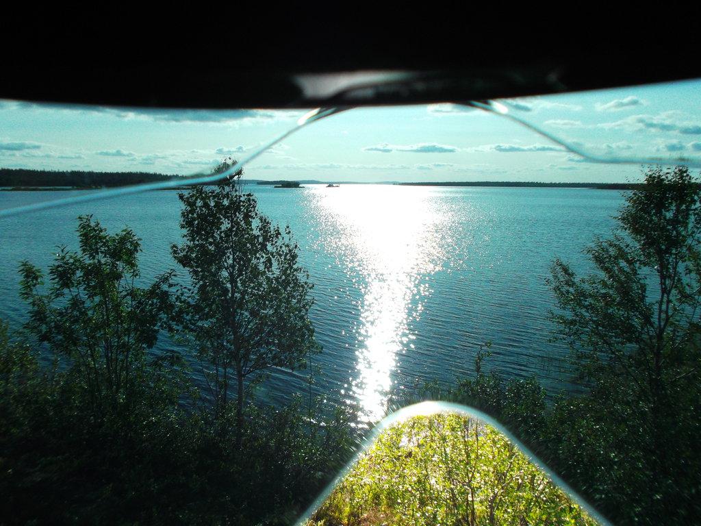 Fínske jazero