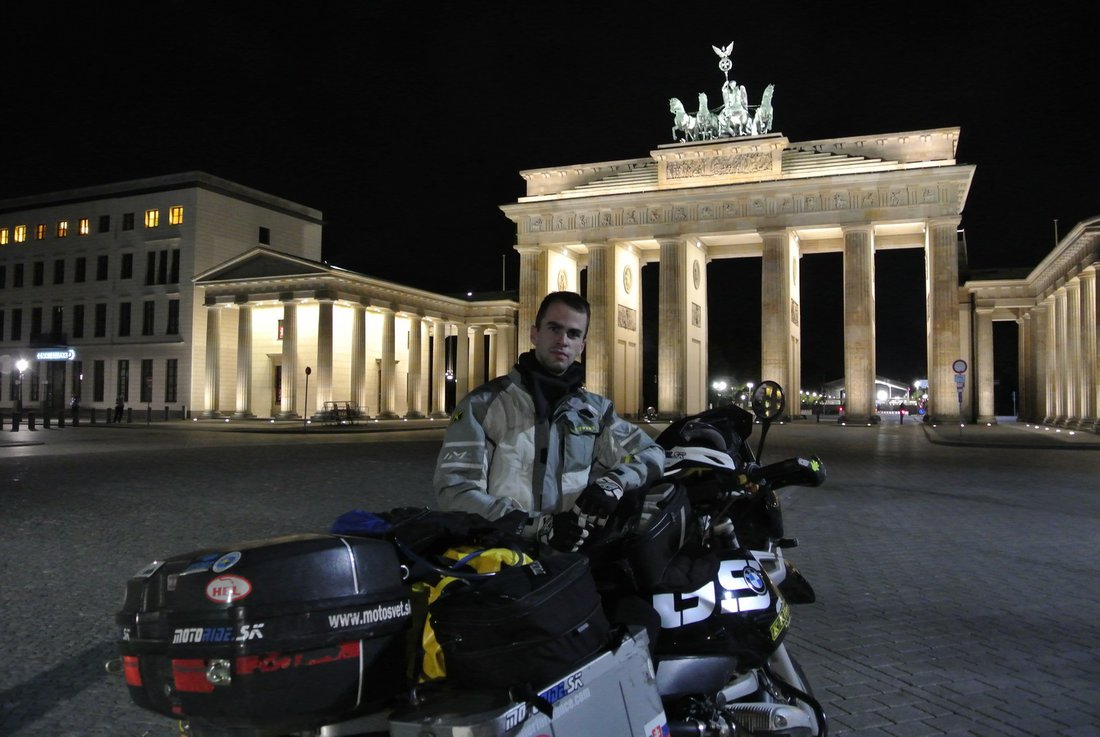 Nórsko 2015 - Berlin Brandenburger Tor