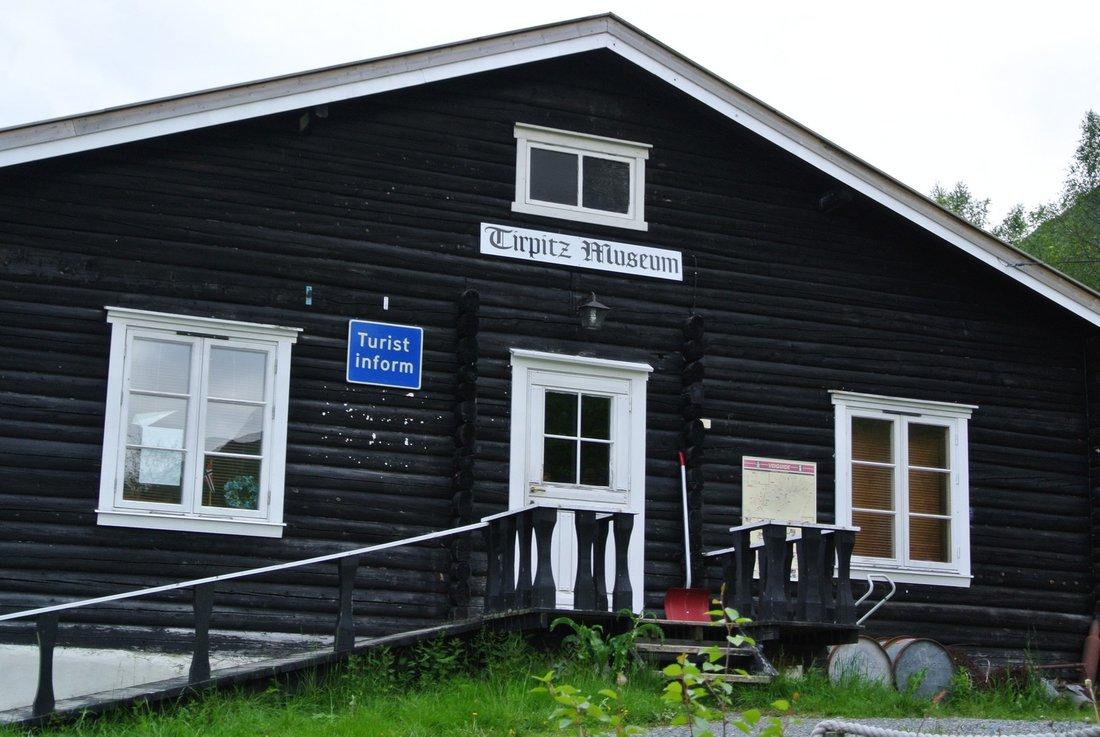 Nórsko 2015 - Múzeum Tirpitz v Kafjord