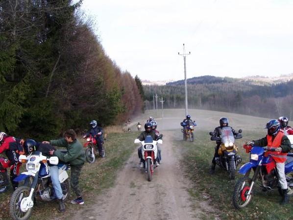 Dobročský Enduro Výlet na Poľanu 2007