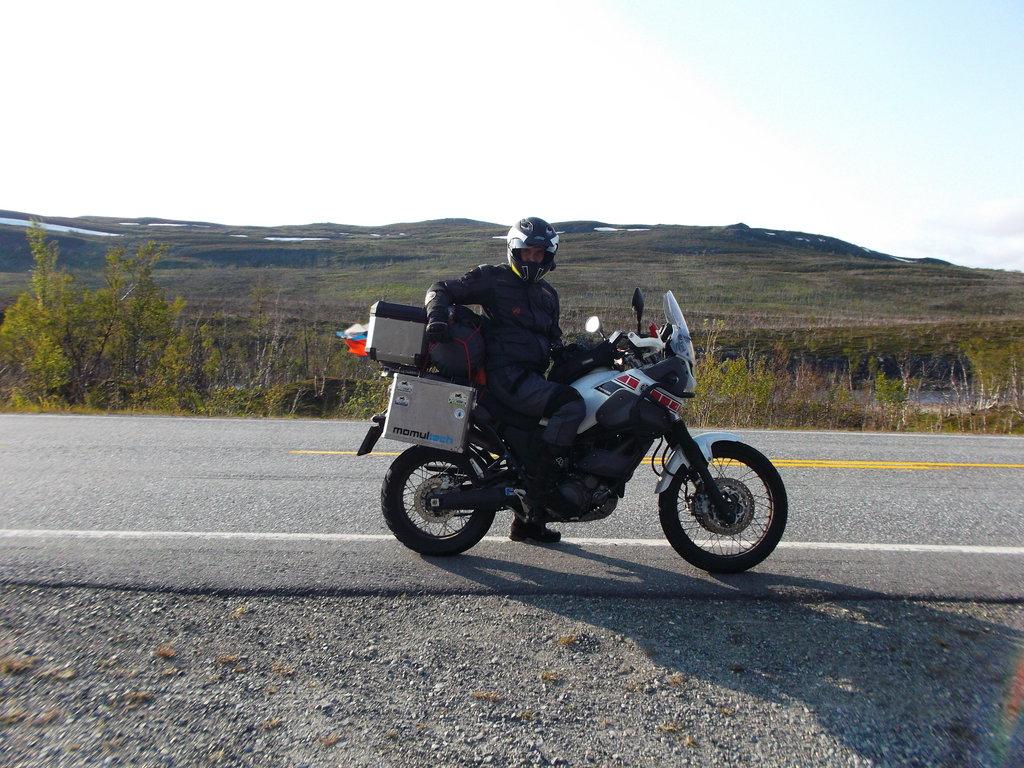 cesta pred Nordkappom