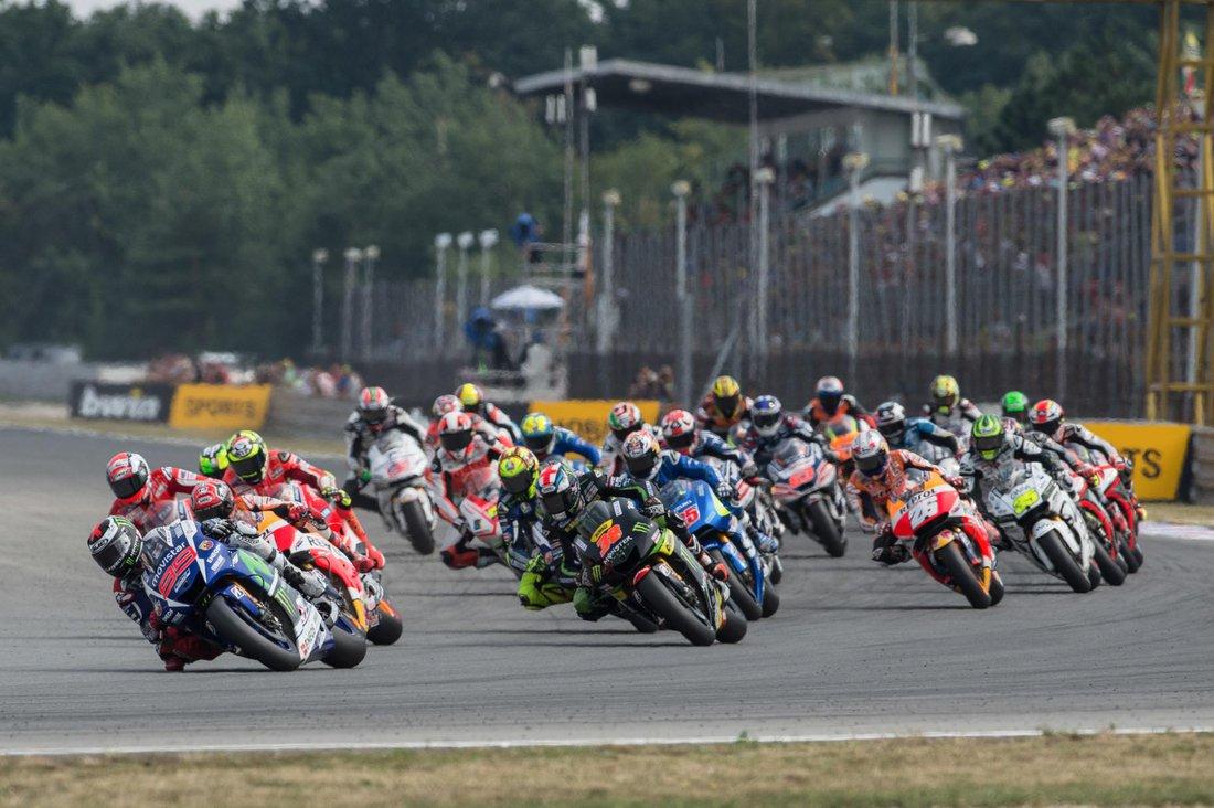 MotoGP 2015 - VC Českej republiky – štart