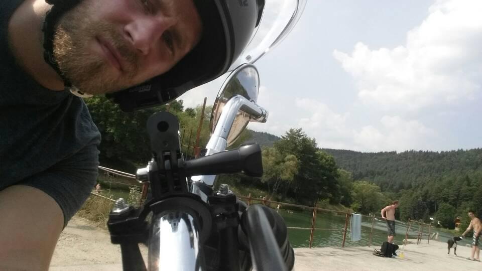 'Stojí to za to' hovorí Palo, jeden z vedúcich pretekárov All Bikers Rally