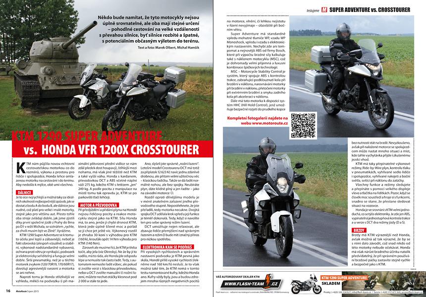 Test KTM Honda