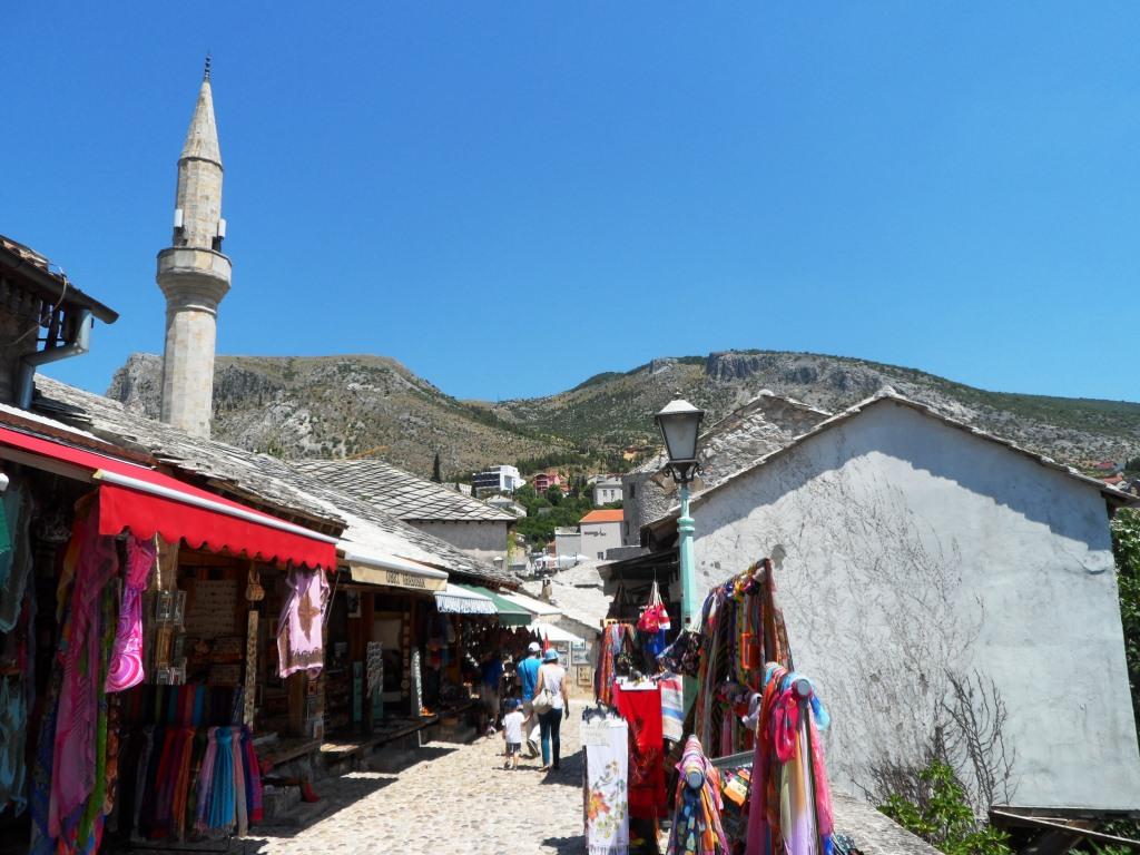 Bosna a Herzegovina - trhy v Mostare