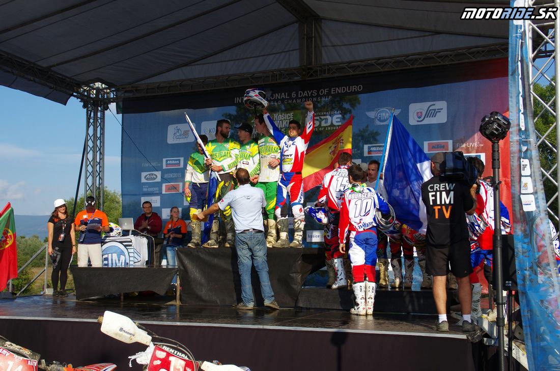 Francúzi vytláčajú tím Austrálie - Šesťdňová 2015 - 6. deň - Záverečný motokros - Kechnec