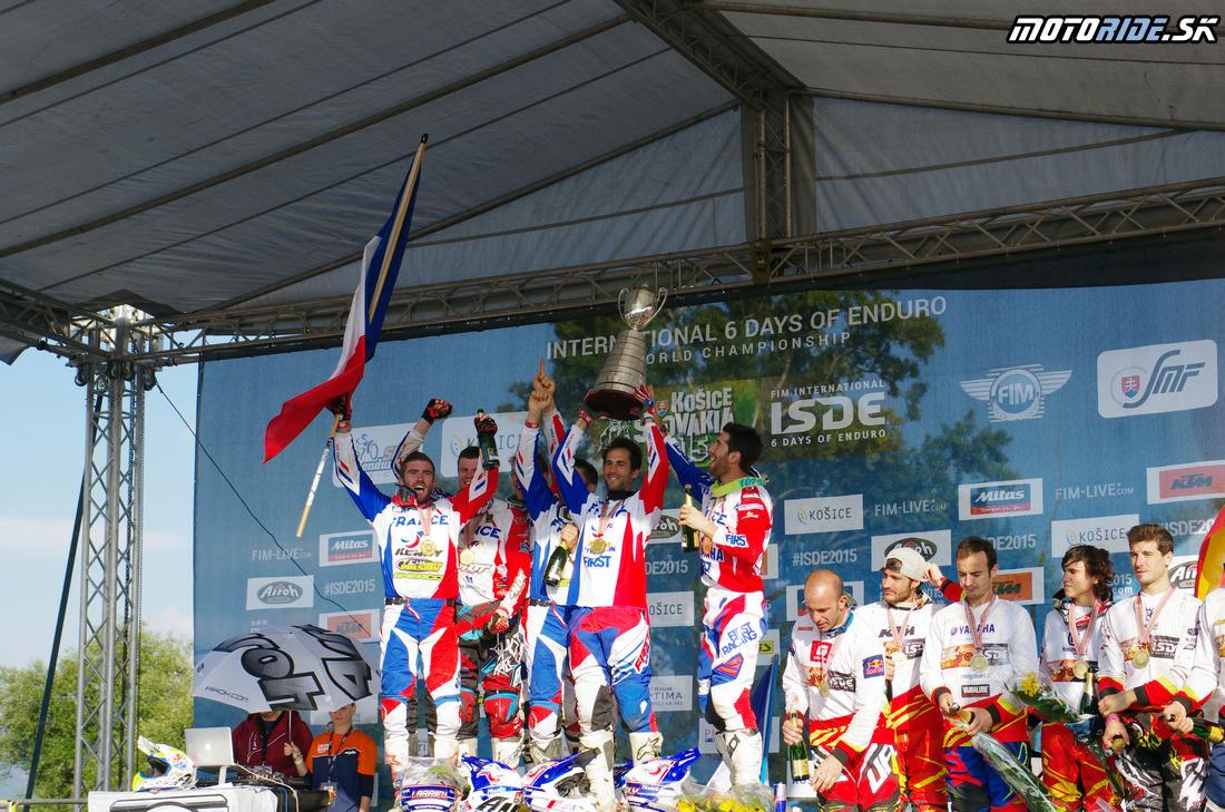 Víťazi World trophy - Francúzsko - Šesťdňová 2015 - 6. deň - Záverečný motokros - Kechnec