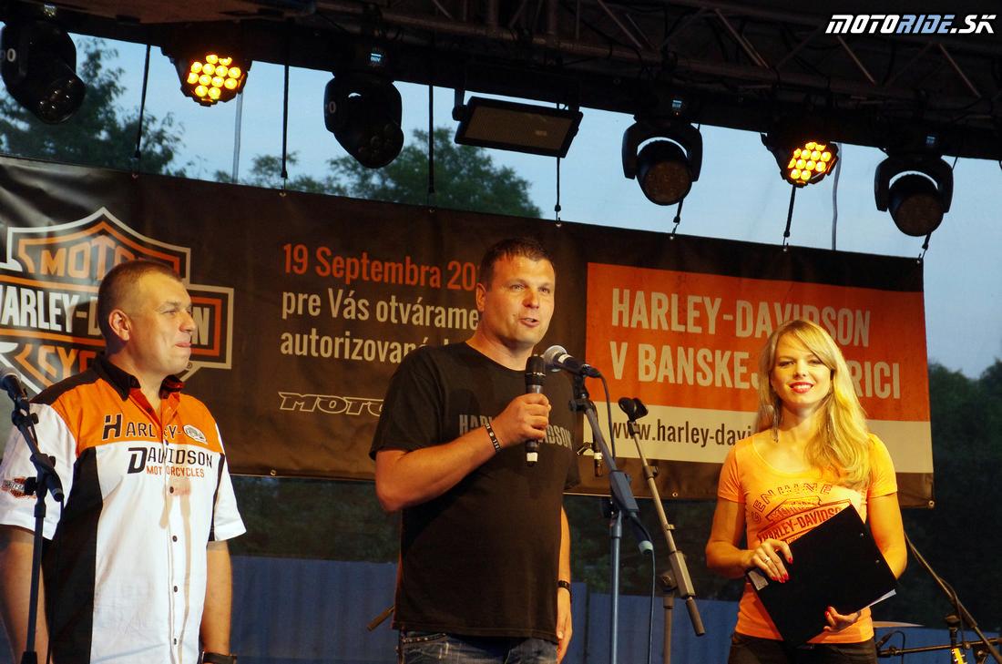 Martin Hermanský - Otvorenie Harley Davidson Banská Bystrica - Motoshop Žubor - 18.9.2015