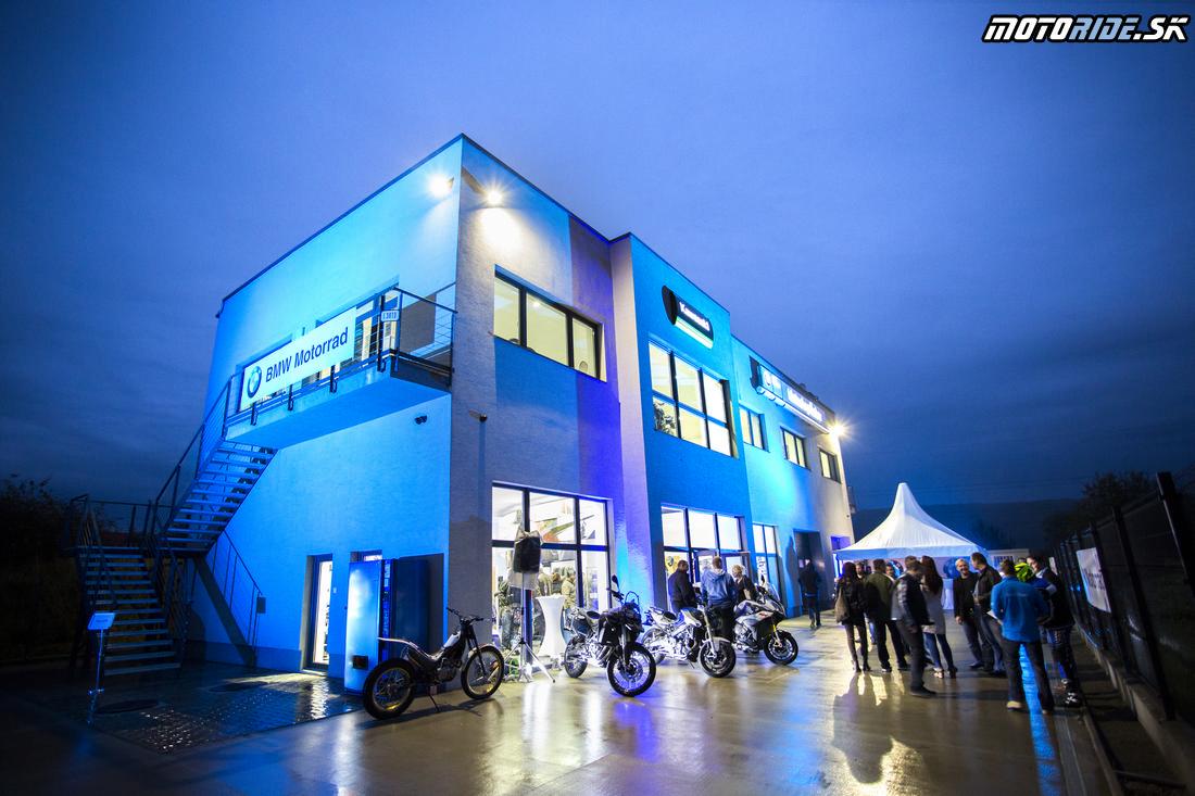 BMW Motorrad - Motoshop Žubor Košice - Oficiálne otvorenie 10/2015
