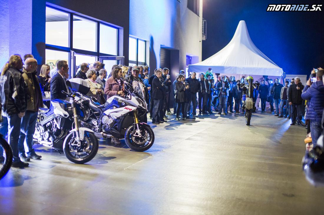 Vladimír Kothay - BMW Motorrad - Motoshop Žubor Košice - Oficiálne otvorenie 10/2015