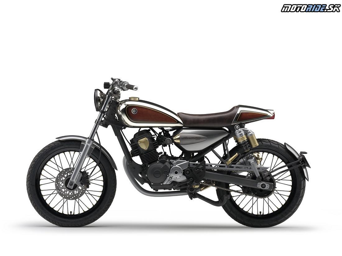Yamaha koncept Resonator 125 - Tokyo Motor Show 2015