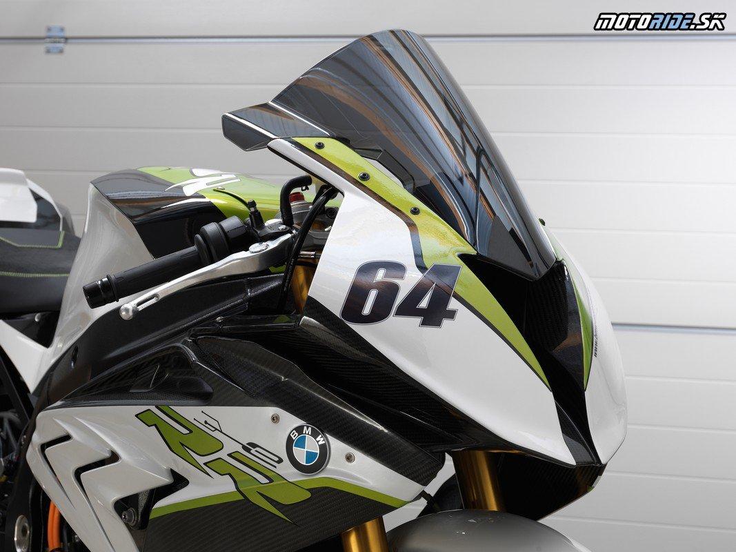 BMW eRR elektrický superšport z Nemecka