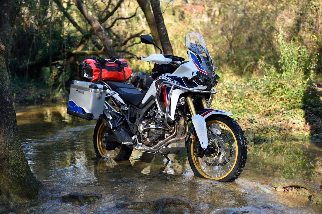 Touratech Honda Africa Twin CRF1000L 2016 off-road test