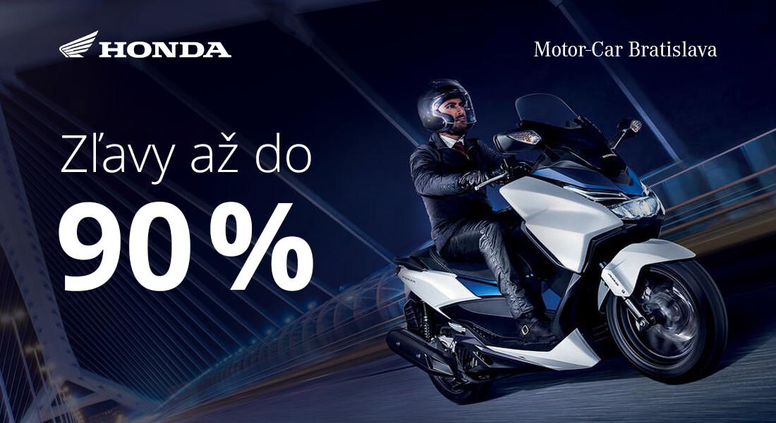 Zľavy 30% až 90% na príslušenstvo a oblečenie v Honda Motor Car v Bratislave