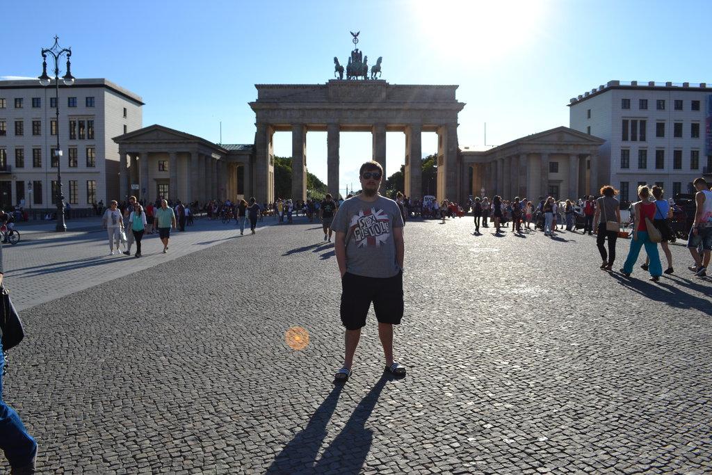 Berlín - Brandenburská brána