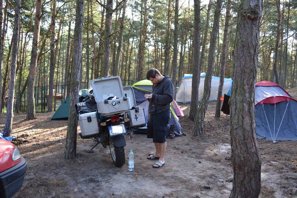 Gdansk - camp