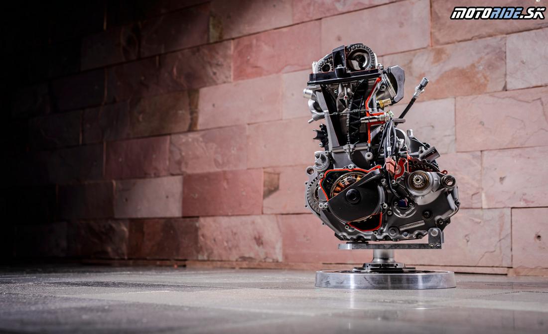 KTM 690 Duke 2016 - motor