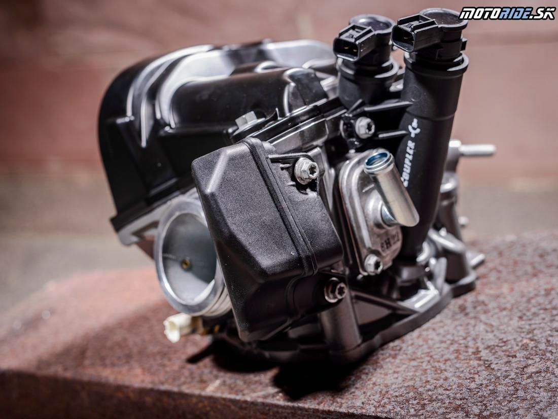 KTM 690 Duke 2016 - hlava motora, vstrekovanie a rezonančná komora