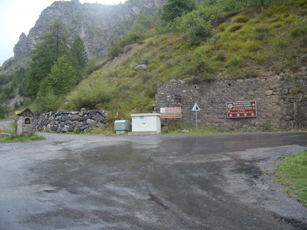 južná rampa Col de la Moutière
