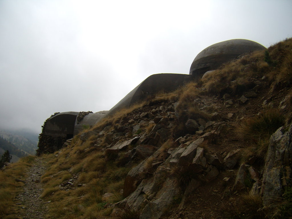 bunker na Col de la Lombarde