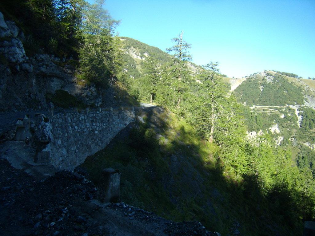 cesta na Baisse d'Ourne